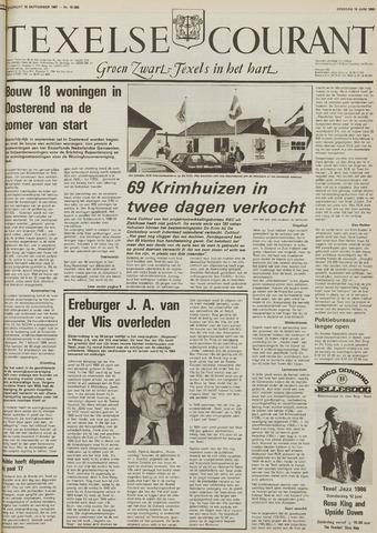 Texelsche Courant 1986-06-10