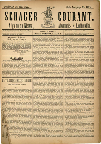 Schager Courant 1888-07-26