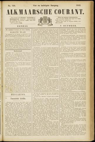 Alkmaarsche Courant 1882-10-08