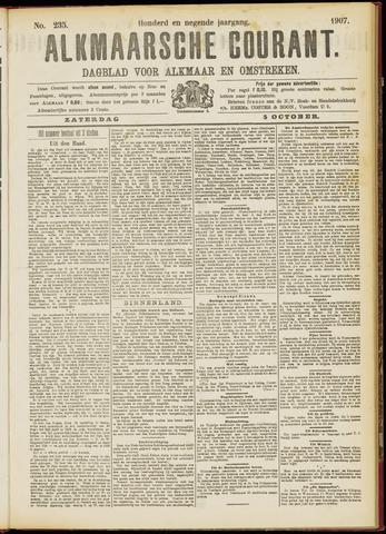 Alkmaarsche Courant 1907-10-05
