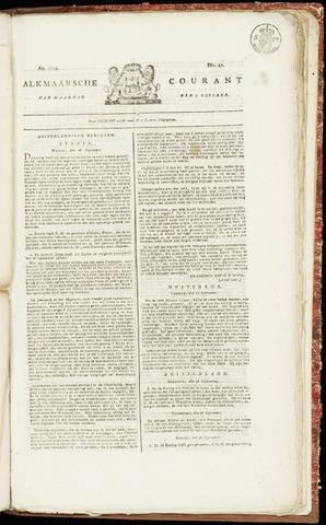 Alkmaarsche Courant 1822-10-07