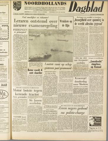 Noordhollands Dagblad : dagblad voor Alkmaar en omgeving 1960-10-10