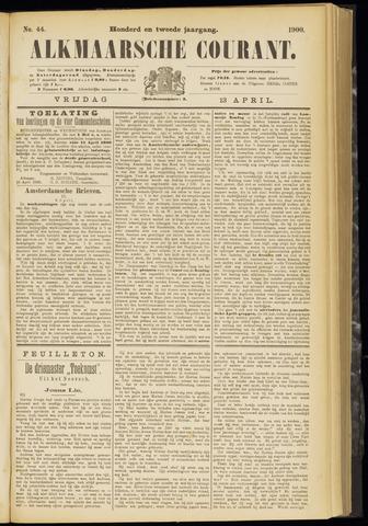 Alkmaarsche Courant 1900-04-13