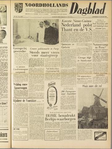 Noordhollands Dagblad : dagblad voor Alkmaar en omgeving 1962-01-11