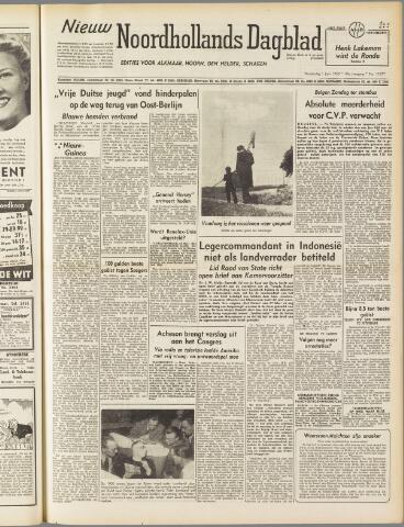 Nieuw Noordhollandsch Dagblad : voor Alkmaar en omgeving 1950-06-01