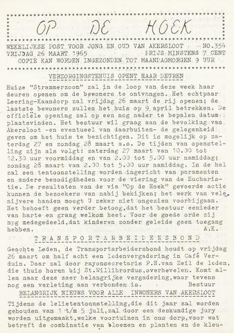 Op De Hoek, weekblad voor Akersloot 1965-03-26