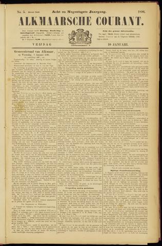 Alkmaarsche Courant 1896-01-10