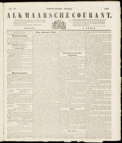 Alkmaarsche Courant 1876-04-02