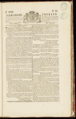 Alkmaarsche Courant 1847-03-29