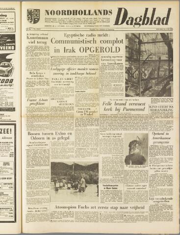 Noordhollands Dagblad : dagblad voor Alkmaar en omgeving 1959-06-23