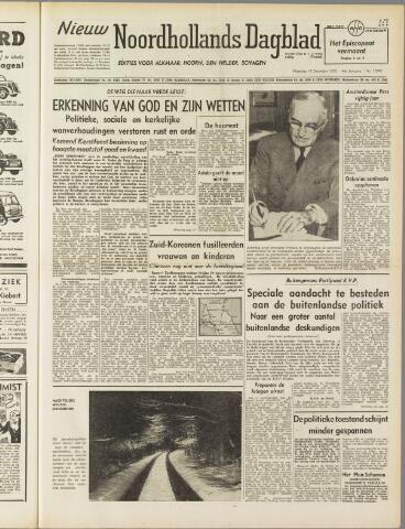 Nieuw Noordhollandsch Dagblad : voor Alkmaar en omgeving 1950-12-18