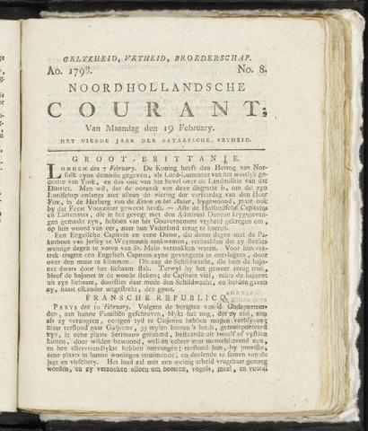 Noordhollandsche Courant 1798-02-19