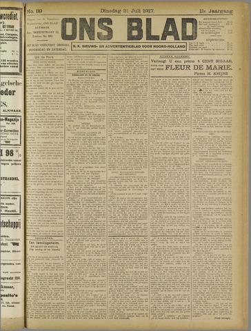 Ons Blad : katholiek nieuwsblad voor N-H 1917-07-31
