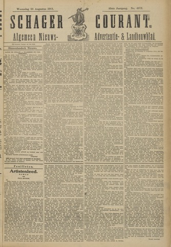 Schager Courant 1911-08-23