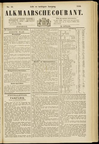Alkmaarsche Courant 1886-04-25
