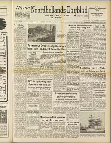 Nieuw Noordhollandsch Dagblad : voor Alkmaar en omgeving 1952-07-23