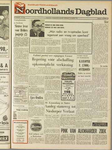 Noordhollands Dagblad : dagblad voor Alkmaar en omgeving 1968-12-03