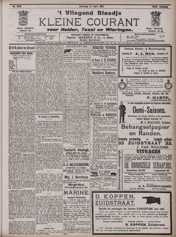 Vliegend blaadje : nieuws- en advertentiebode voor Den Helder 1902-04-12