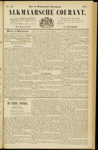 Alkmaarsche Courant 1894-12-12
