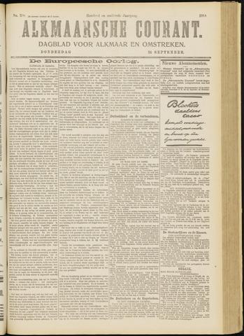Alkmaarsche Courant 1914-09-24