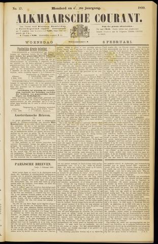 Alkmaarsche Courant 1899-02-08
