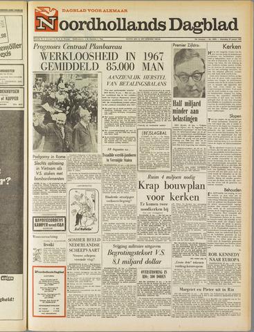 Noordhollands Dagblad : dagblad voor Alkmaar en omgeving 1967-01-25