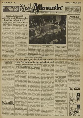 De Vrije Alkmaarder 1949-03-11