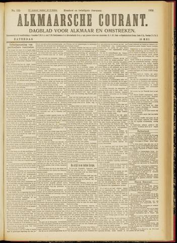 Alkmaarsche Courant 1918-05-18