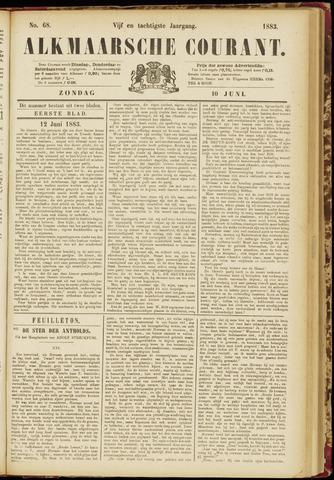 Alkmaarsche Courant 1883-06-10