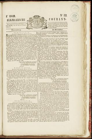 Alkmaarsche Courant 1849-12-24