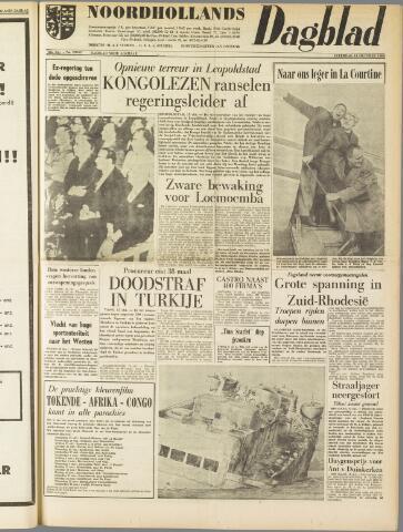 Noordhollands Dagblad : dagblad voor Alkmaar en omgeving 1960-10-15