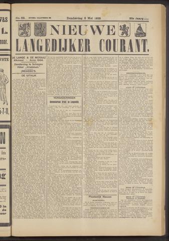Nieuwe Langedijker Courant 1923-05-03