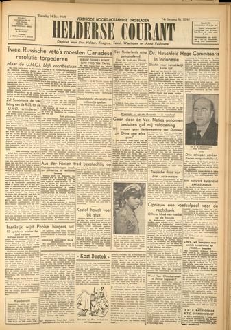 Heldersche Courant 1949-12-14
