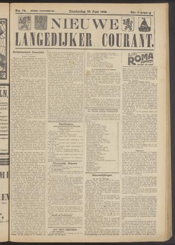 Nieuwe Langedijker Courant 1925-06-25