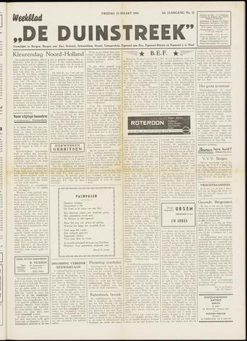 De Duinstreek 1956-03-23