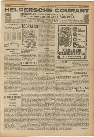 Heldersche Courant 1929-09-14