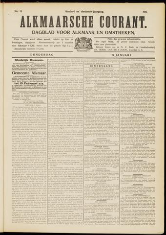 Alkmaarsche Courant 1911-01-19