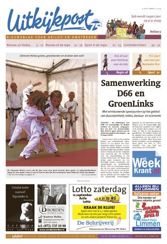 Uitkijkpost : nieuwsblad voor Heiloo e.o. 2009-09-09