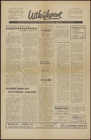 Uitkijkpost : nieuwsblad voor Heiloo e.o. 1958-01-16