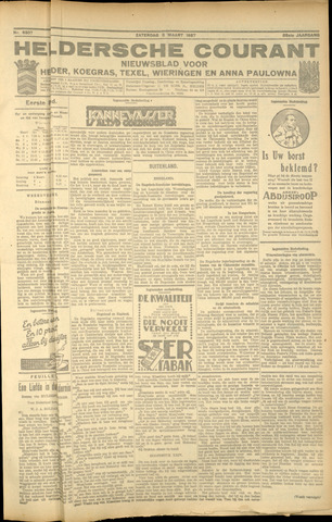 Heldersche Courant 1927-03-05