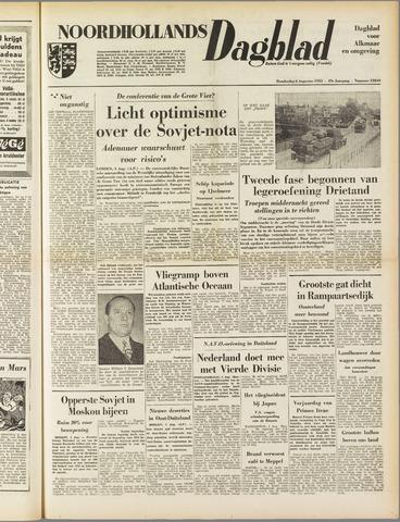 Noordhollands Dagblad : dagblad voor Alkmaar en omgeving 1953-08-06