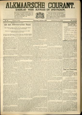 Alkmaarsche Courant 1933-10-07
