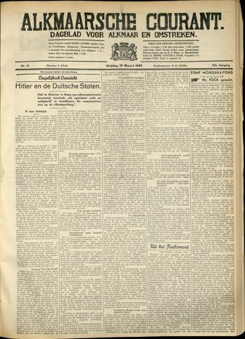 Alkmaarsche Courant 1933-03-10