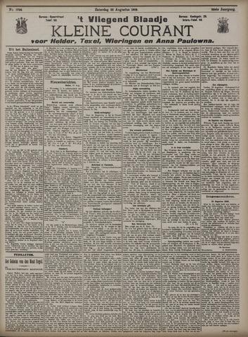Vliegend blaadje : nieuws- en advertentiebode voor Den Helder 1908-08-22