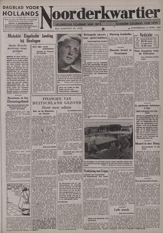 Dagblad voor Hollands Noorderkwartier 1942-04-23