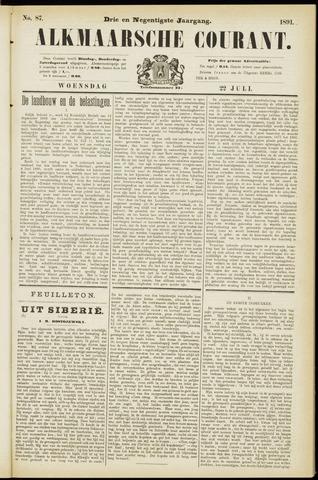 Alkmaarsche Courant 1891-07-22