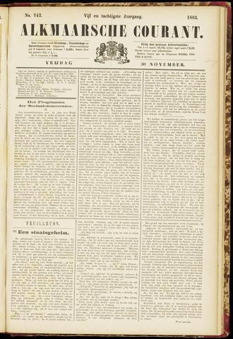 Alkmaarsche Courant 1883-11-30