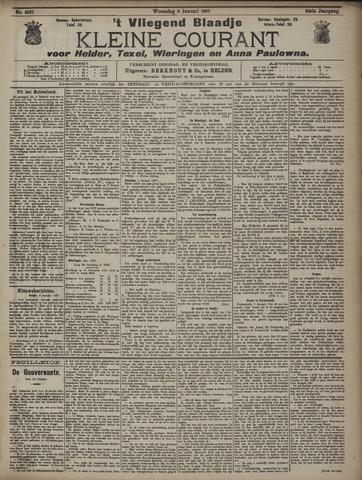 Vliegend blaadje : nieuws- en advertentiebode voor Den Helder 1907-01-09