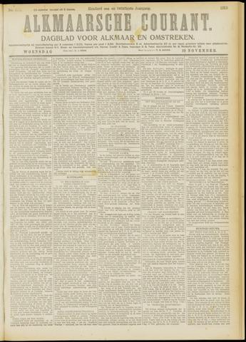 Alkmaarsche Courant 1919-11-19