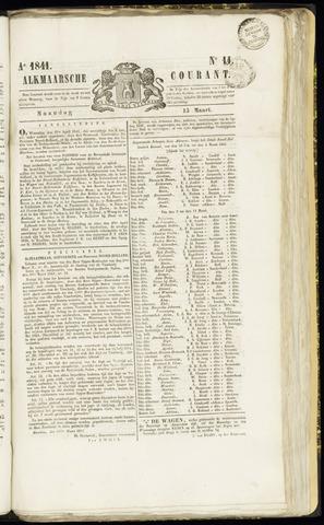 Alkmaarsche Courant 1841-03-15